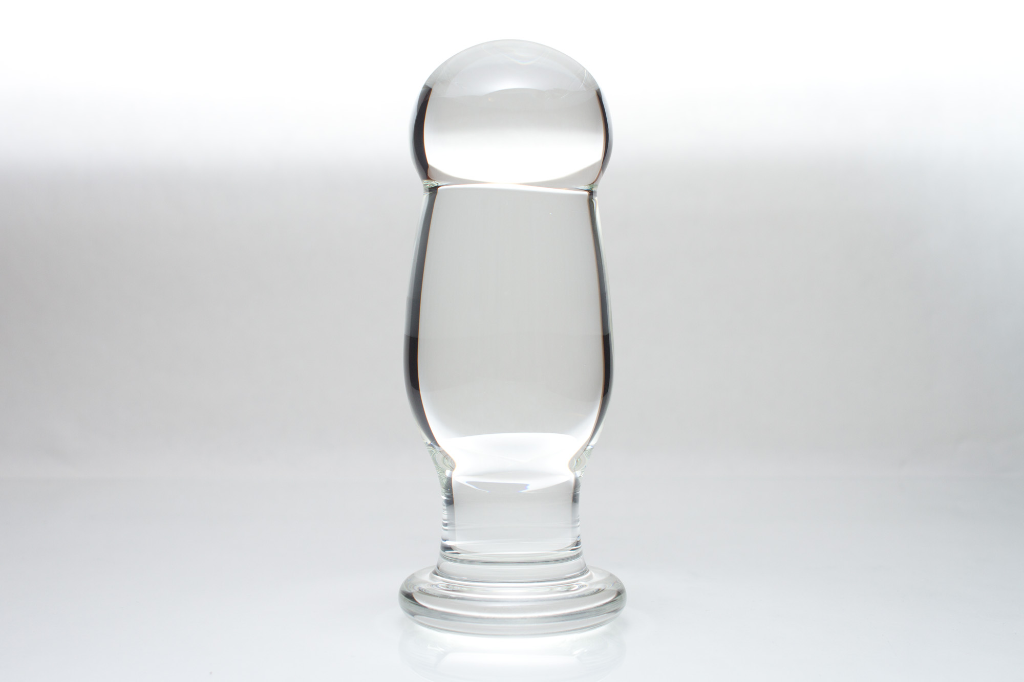 Standing Custom Glass Butt Plug